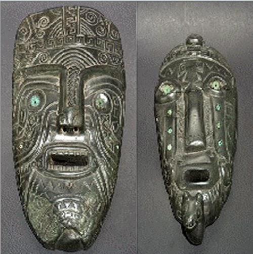 Increíbles máscaras antiguas revelan presencia de gigantes en Bolivia
