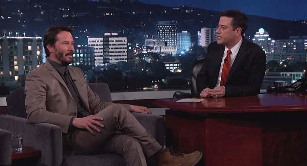 Keanu Reeves dice haber tenido un encuentro con un fantasma