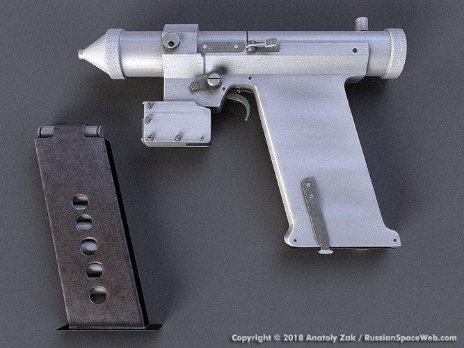 La pistola de rayos láser para el espacio que la Unión Soviética creó para sus cosmonautas