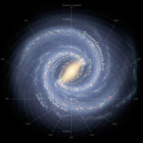 La Vía Láctea podría ser dos veces más grande de lo que pensaban los astrónomos