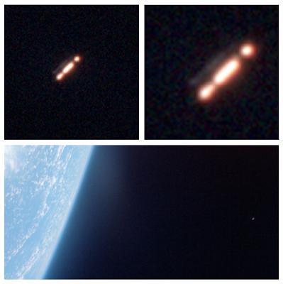 """las imagenes de la mision gemini muestra pruebas innegables de ovnis orbitando alrededor de la tierra - Las imágenes de la misión Gemini muestra """"pruebas innegables"""" de OVNIs orbitando alrededor de la Tierra"""