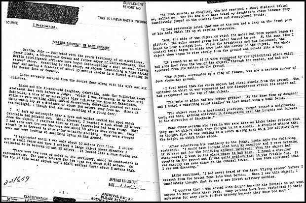 Más Grande Que Roswell?Archivos Secretos De La CIA Descubren Avistamientos De OVNIS Ocultos