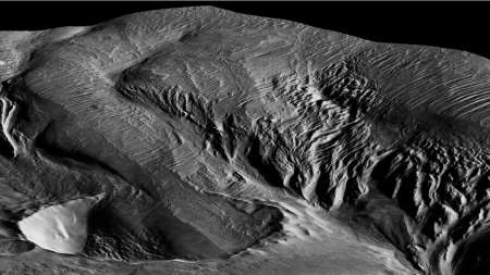 Los científicos finalmente han resuelto lo que creó esta extraña estructura en Marte