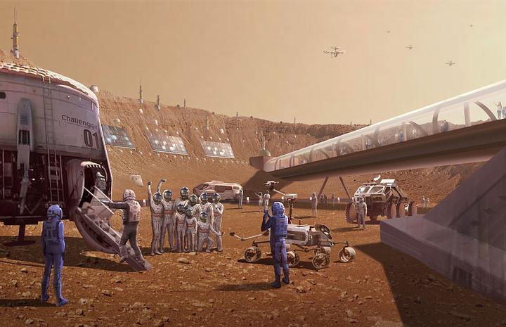 No tener sexo ni hijos: el sacrificio que tendrán que hacer los primeros colonos de Marte