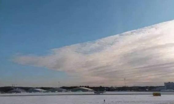 Nubes cuadradas anormales