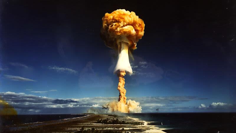 Observa el mejor escenario en caso de guerra nuclear