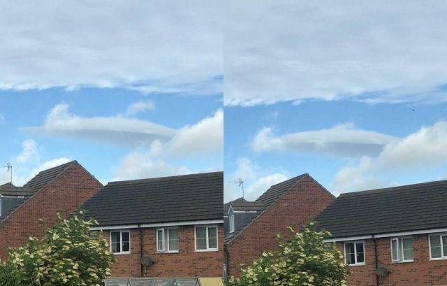 OVNI oculto masivo atrapado en Harrogate, Reino Unido