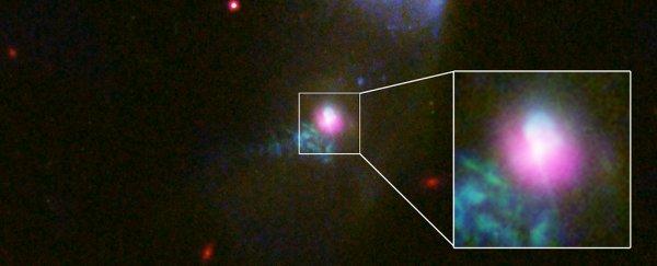 Por primera vez, los astrónomos han observado un agujero negro que expulsa la materia dos veces
