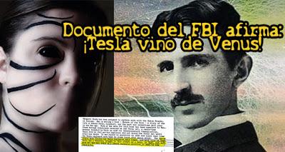 Según un documento desclasificado del FBI Nikola Tesla fue traído a la Tierra desde Venus