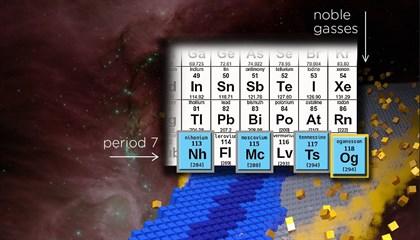 Una nueva forma de materia se vislumbra más allá de la tabla periódica