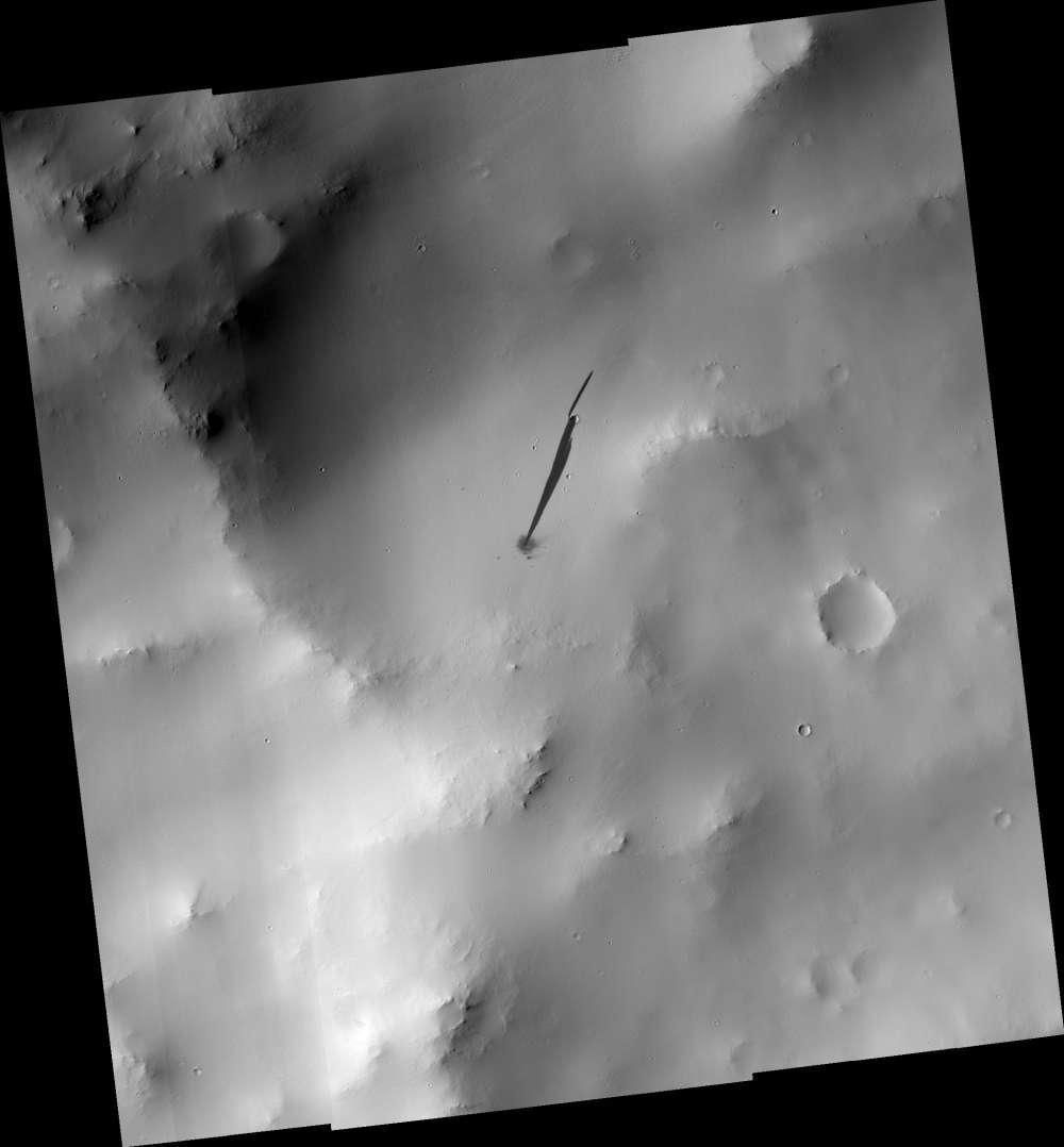 Esta asombrosa imagen de un impacto de meteorito en Marte no es lo que crees