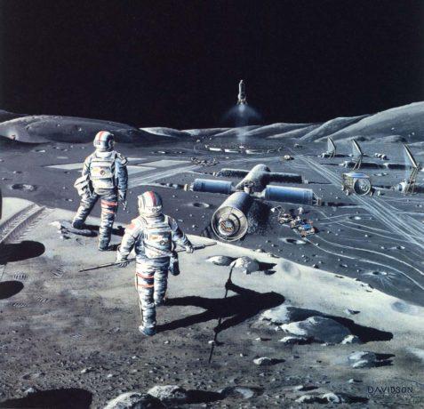 Descubiertas bases secretas en la cara oculta de la Luna
