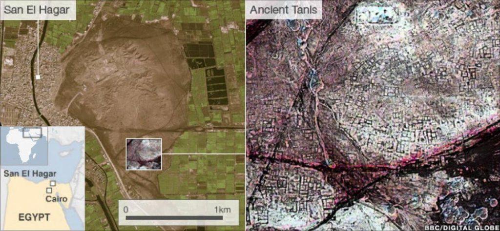 17 Pirámides Egipcias Encontradas Por Imágenes De Satélite Infrarrojas