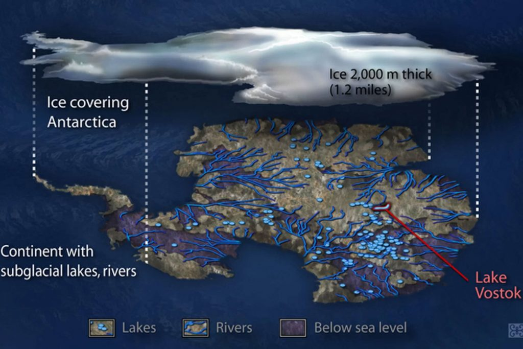Investigadores rusos confirman la existencia de un continente oculto en la Antártida