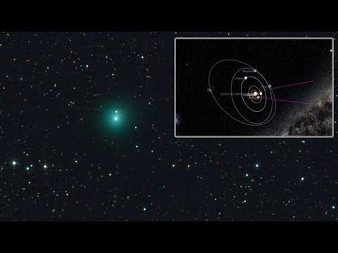 alerta se acerca un cometa dos veces el tamaño de jupiter c2017s3 panstarrs  - ALERTA SE ACERCA UN COMETA DOS VECES EL TAMAÑO DE JUPITER C2017S3 PANSTARRS