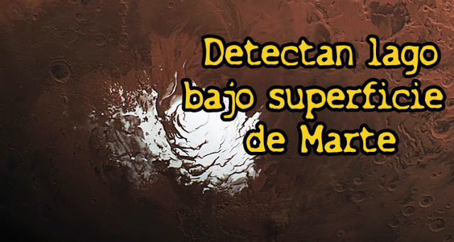 Científicos detectan un acuífero subterráneo gigante en Marte.
