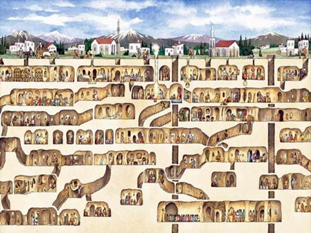 Ciudades Sbterráneas y redes alrededor del Mundo