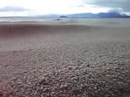 Clima Extremo Las OLAS DE PIEDRA en Lago Ranco, Chile