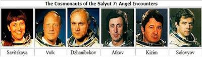 Cosmonautas rusos y sus avistamientos de ovnis y otros fenómenos extraños