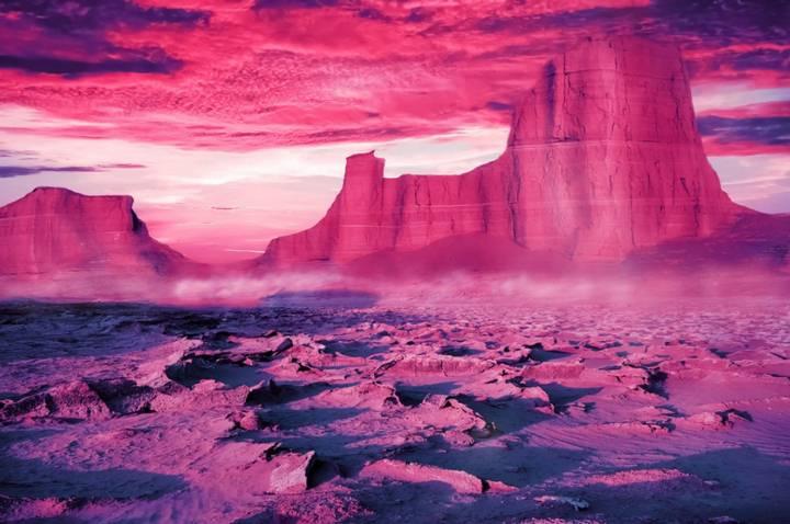 El color más antiguo: el mundo era rosa brillante hace 1.000 millones de años