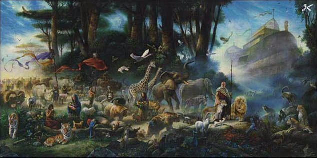 El gran diluvio universal sí ocurrió, según el arqueólogo Robert Ballard