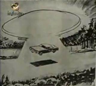 El incidente ovni del rally de 1978, un vehículo trans