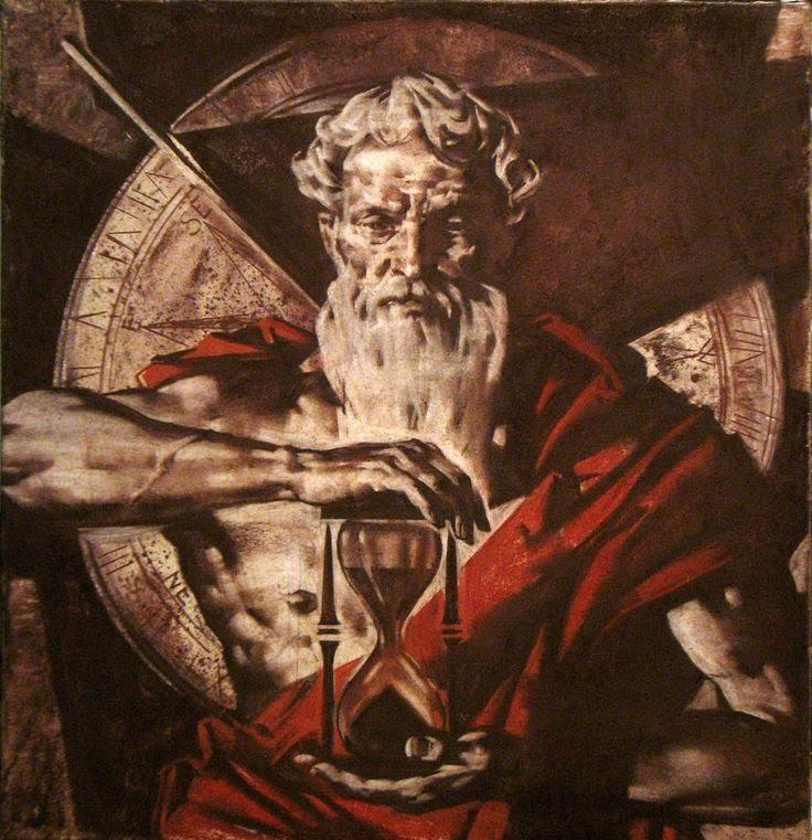 El mito de Cronos, Dios del tiempo