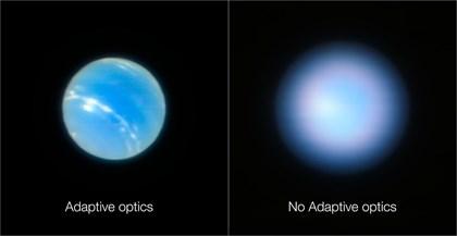 El telescopio VLT supera la nitidez del Hubble sin salir de la Tierra