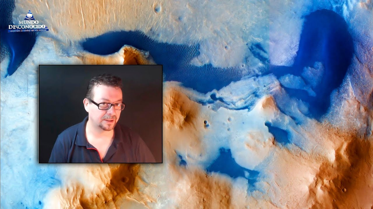Enormes Lagos en Marte