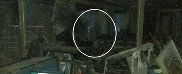 Fotografían una figura espectral en el interior del Costa Concordia