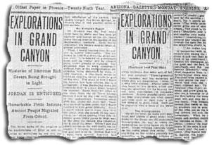 gc 1909Article - Esta el Gobierno de EE UU encubriendo grandes Hallazgos Arqueológicos en el Gran Cañón?