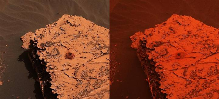 La Nasa ha publicado un video que muestra como de mayo a julio la tormenta de polvo ha envuelto por completo al planeta rojo.
