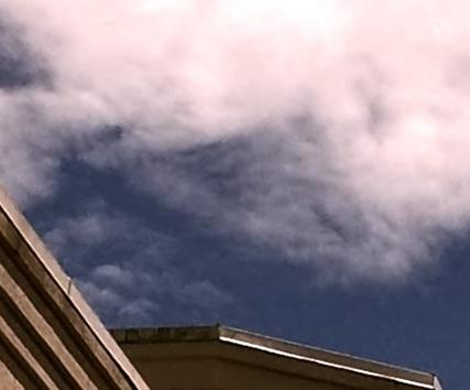 La pirámide apareció en el cielo sobre Michigan