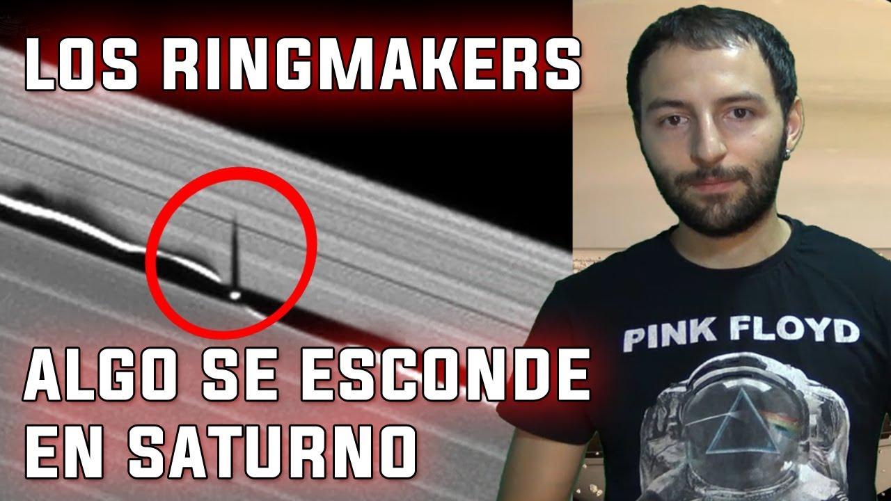 Los anillos de Saturno Ocultan Máquinas Extraterrestres – Los RingMakers