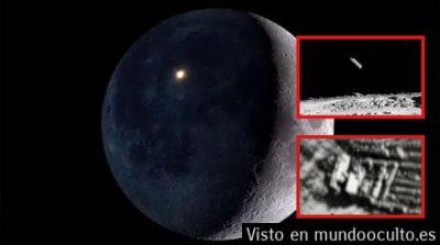 Misteriosas estructuras en la luna