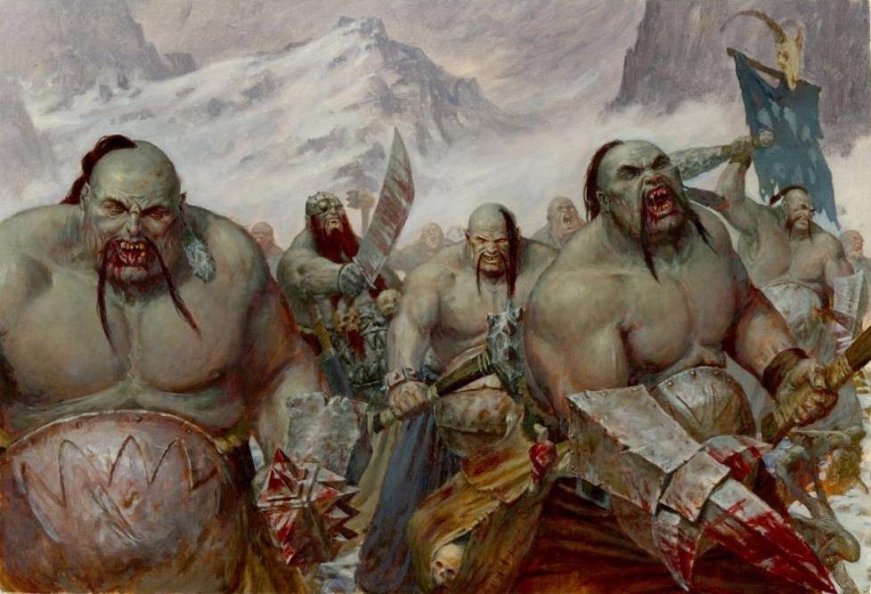 """Ogros """"Los legendarios y místicos humanoides gigantes del mundo"""""""