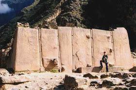 Ollantaytambo, el templo imposible construido con antigravedad