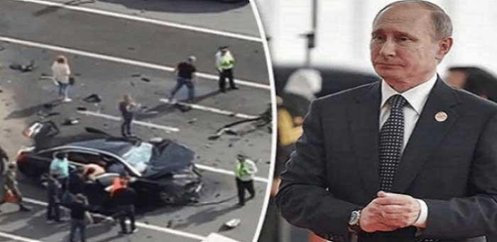 Vladimir Putin se salva después de un supuesto atentado fallido del N.W.O.