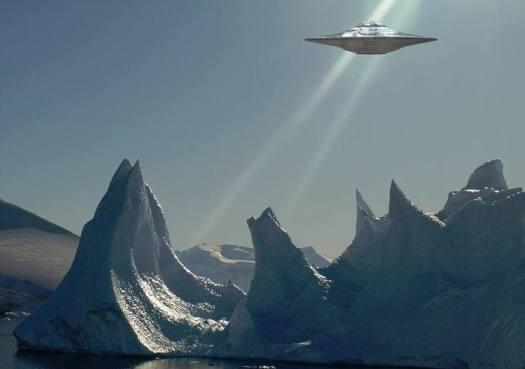 OVNIs en la Antártida! Británicos desclasifican un expediente revelador