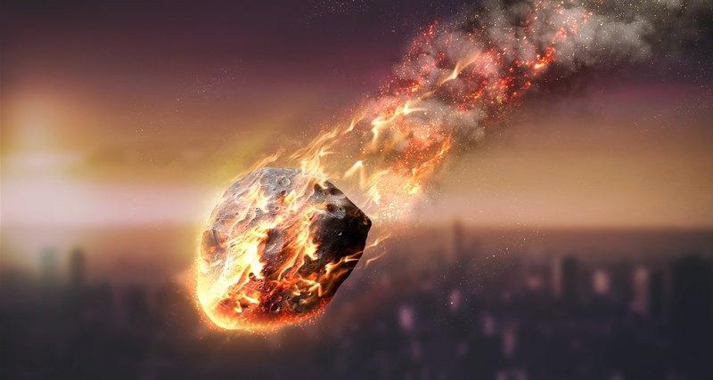 Rusia descubre un nuevo mineral en el interior de un meteorito