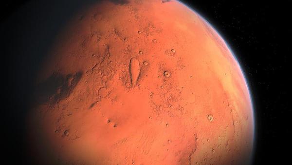Se está moviendo Marte hacia atrás?