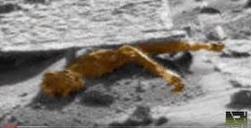 Un protagonista robótico con el apodo de; Curiosity revela un CUERPO HUMANOIDE en Marte