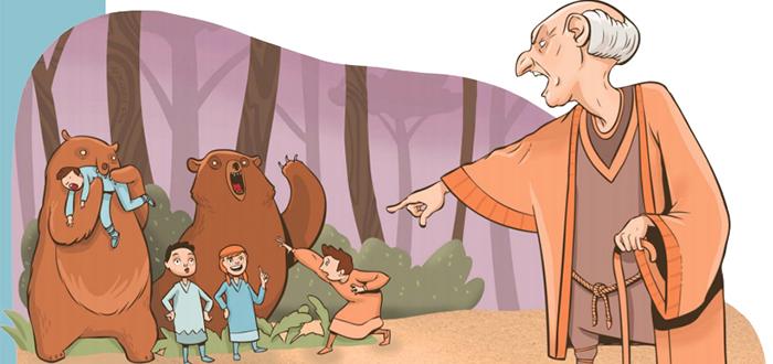 Profeta Eliseo | La terrible historia de los niños que se burlaron de él
