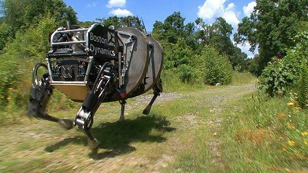 Video: EE.UU. ya 'doma' a su robot caballo