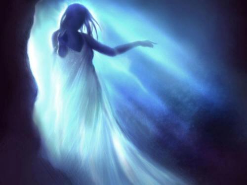 Visiones fantasmales en el momento de la muerte
