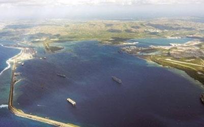 ¿Qué hay en la isla de Guam?