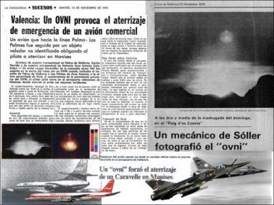 """El """"caso Manises"""" y las luces en el cielo de Mallorca"""