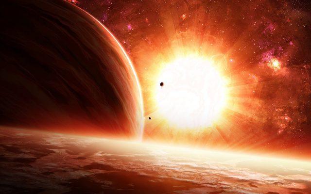 De qué está hecho el Sol?