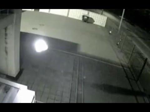 Cámara CCTV graba esfera de energía