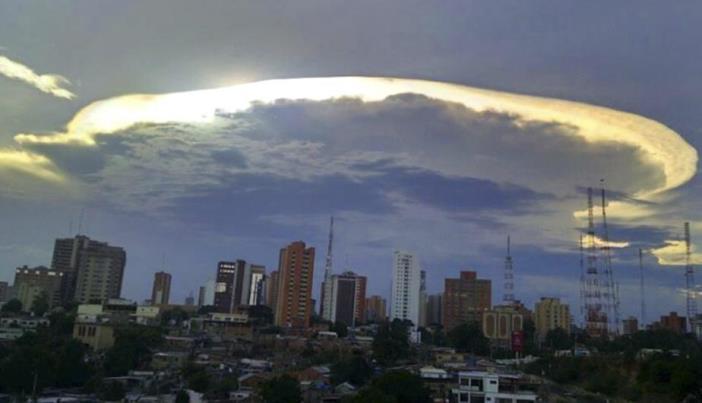 El misterio de los extraterrestres que podrían usar las nubes para esconderse